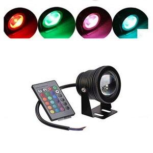 Image 5 - 10 W LED RGB piscina estanque luz Coloful lámpara de pesca con Control remoto