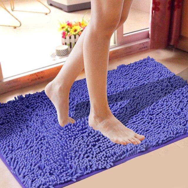 Ciniglia Vasca Da Bagno Toilette Zerbino Anti Slip Super Assorbente Bagno Tappet