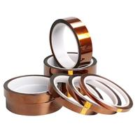 8pcs 33m Adhesive Tape High Temperature Heat Resistant Polyimide Tape For Electronic BGA PCB SMT