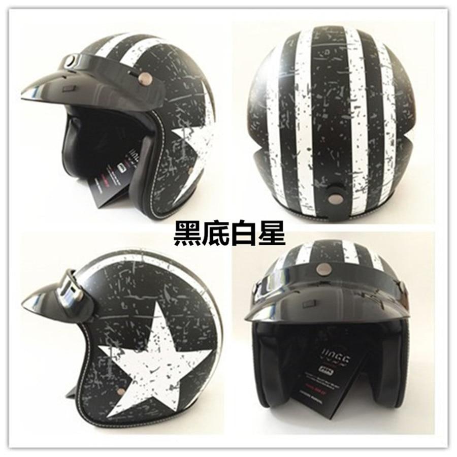 black white star