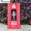100% Original IJOY Ilimitadas RDTA Tanque Rebuildable 4 ML ijoy Cigarro rdta Atomizador Controle de Fluxo de Ar Ajustável Tanque Vape