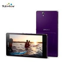 100% Original Sony Xperia Z L36h C6602 C6603 3G&4G Mobile phone 5.0″ TouchScreen Quad-Core 2G RAM 16GB ROM with 13.1MP Camera