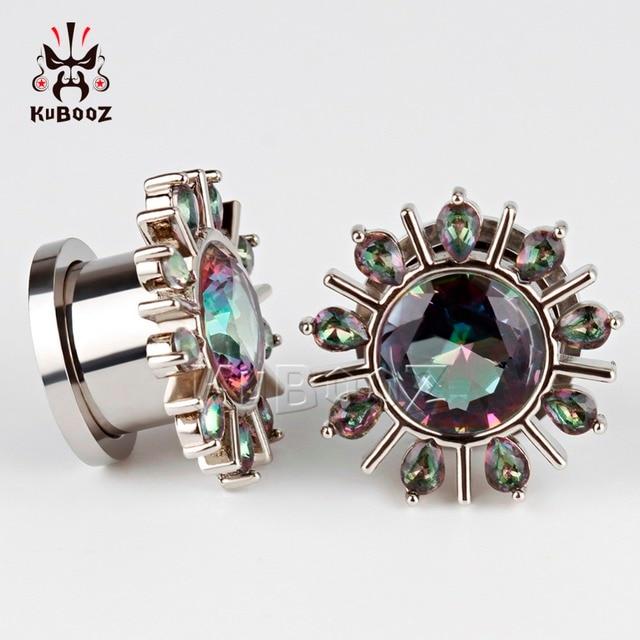 Ювелирные изделия для пирсинга kubooz модная туннельная заглушка