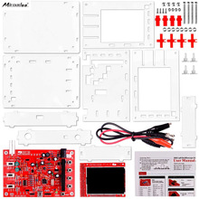 Quimat DSO138 Digital Oscilloscope Kit + Case/Open Source 2.4 polegada TFT 1 Msps com Sonda Montada Visão 13805KC