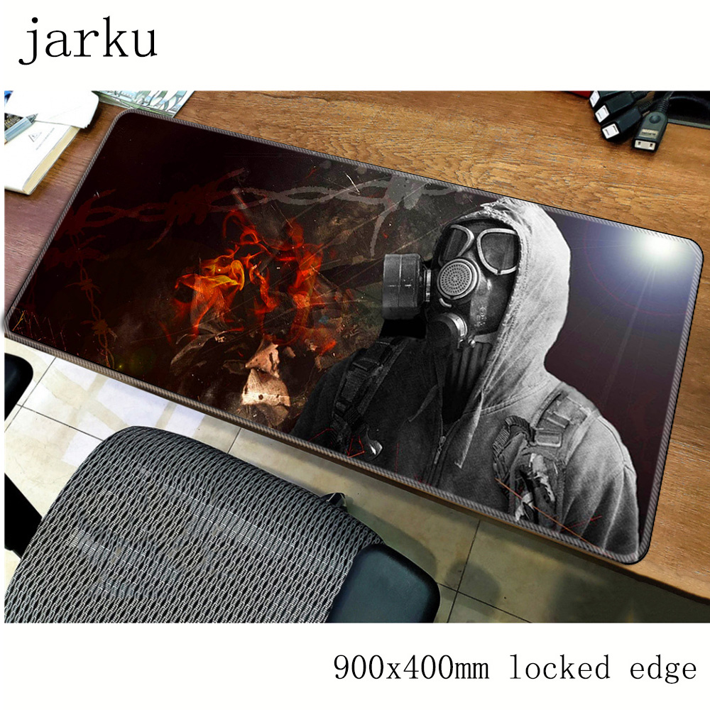 stalker mousepad gamer <font><b>900x400X3MM</b></font> gaming mouse pad large HD pattern notebook pc accessories laptop <font><b>padmouse</b></font> ergonomic mat image
