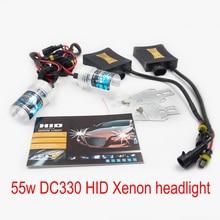 Автомобильная ксеноновая 55w тонкий балласт Xenon лампы DC330 автозапчасти Toyota Hilux 880 9005 9006 H1 H3 H7 H11 9004 H4 H13 туман спереди светильник источник
