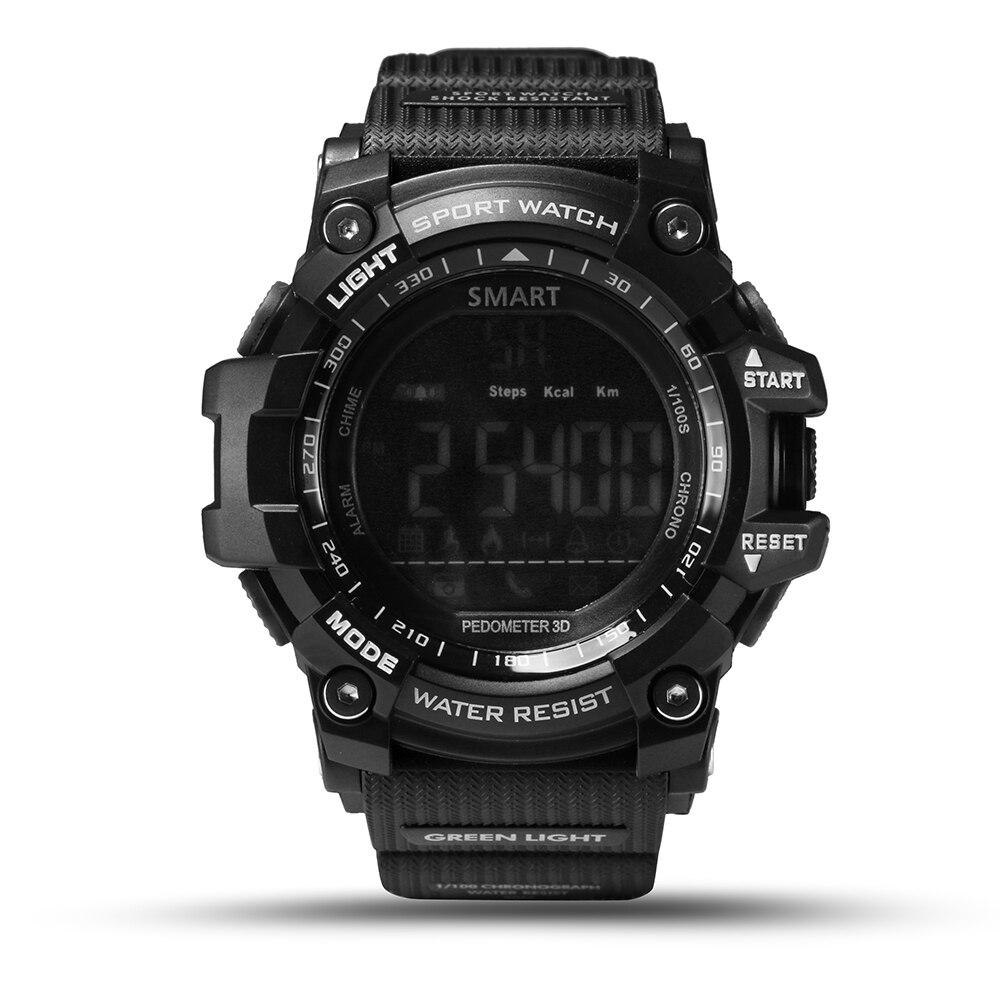 imágenes para 2017 NUEVA EX16 SmartWatch Podómetro Inteligente Del Reloj Del Reloj Al Aire Libre IP67 A Prueba de agua/Mensaje Recordatorio Dispositivo Portátil