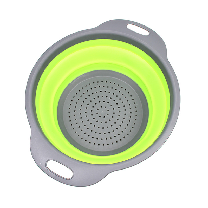 Large Collapsible Folding Strainers/Strainer Set- Perfect For Draining Pasta, Vegetable
