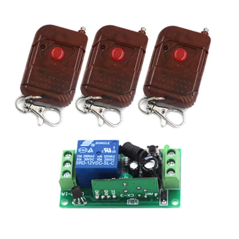 Wireless Remote Controlled Switch Circuit C Free Electronic