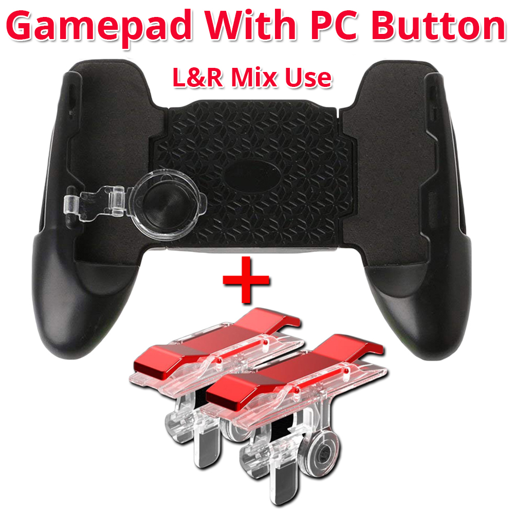 gamepad with pc button