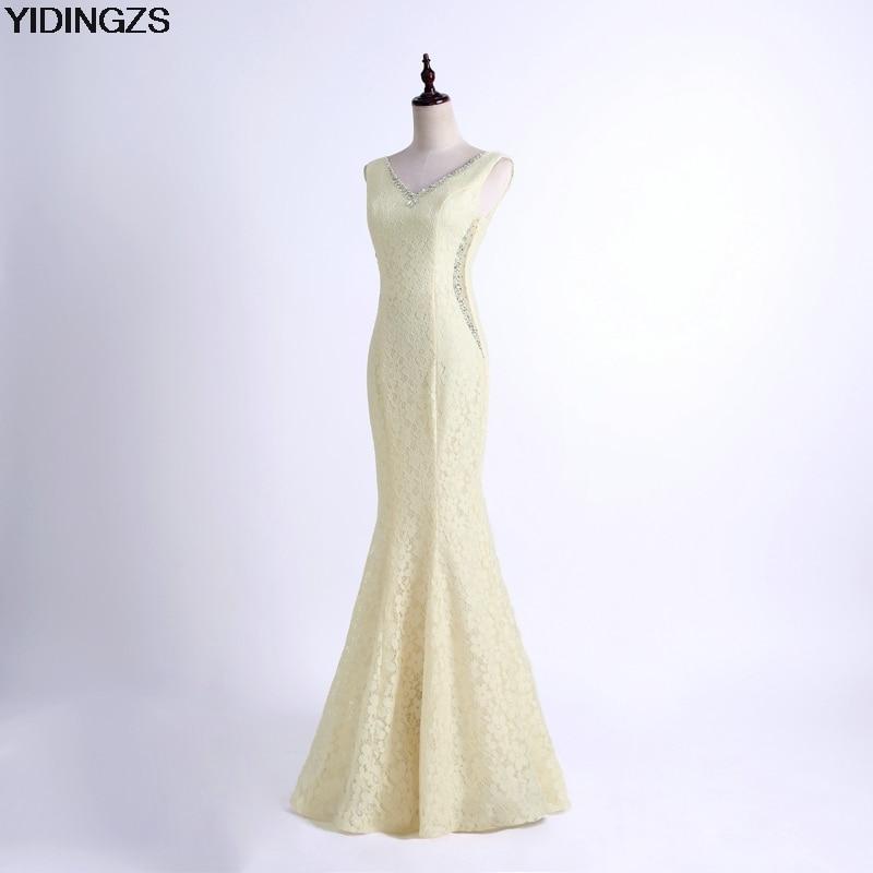 Atemberaubend Brautjunferkleider Champagner Farbe Ideen ...