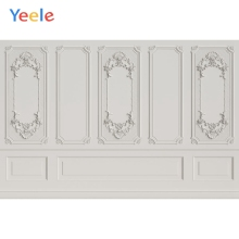 Yeele Simple Interior White Wall Self Portrait Show Personalized Photographic Backdrops Photography Backgrounds For Photo Studio