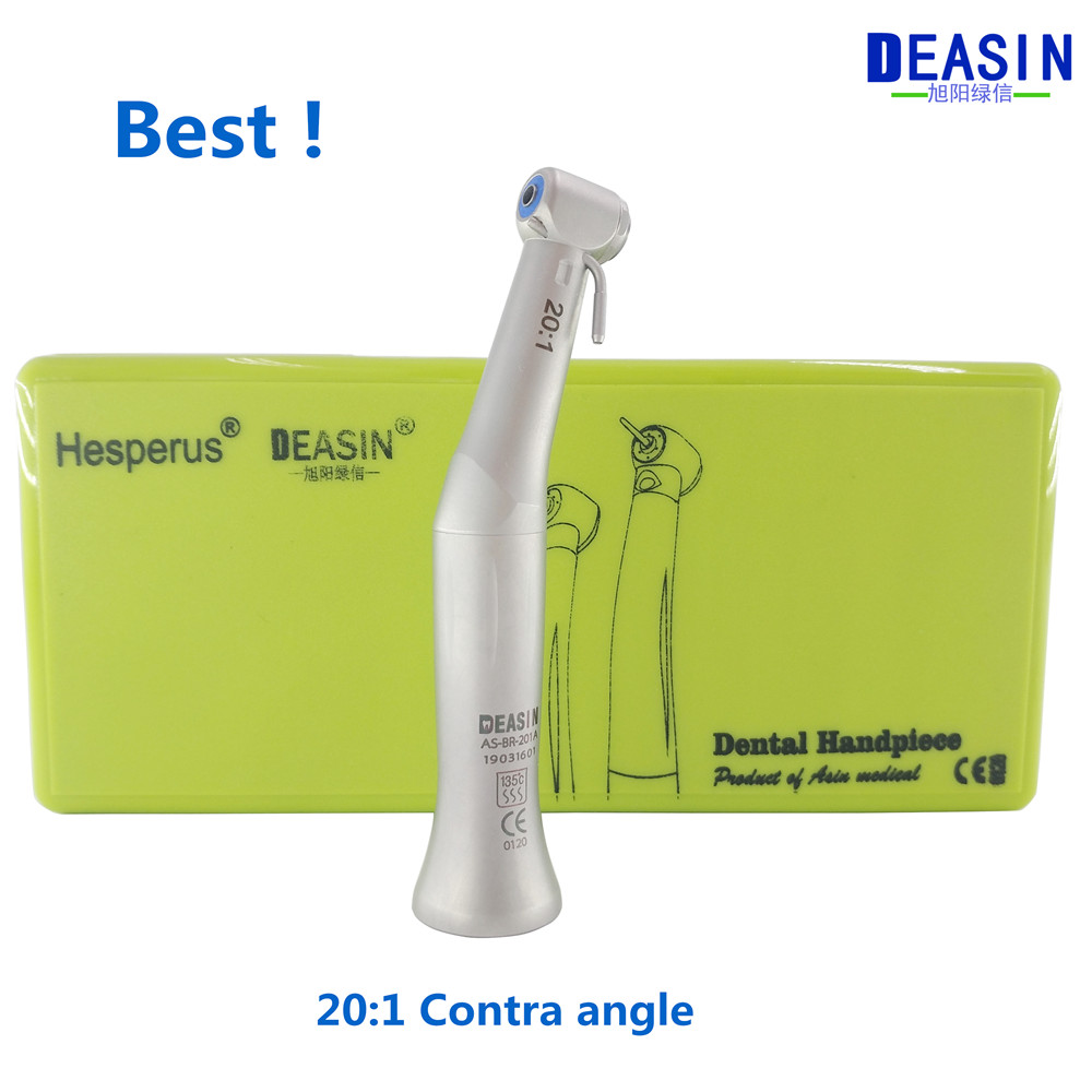 Best Deasin 20:1 Contra Angle Slow Speed Handpiece  For Dental implant Micromotor Polish Tool Free shipping-in Teeth Whitening from Beauty & Health    1
