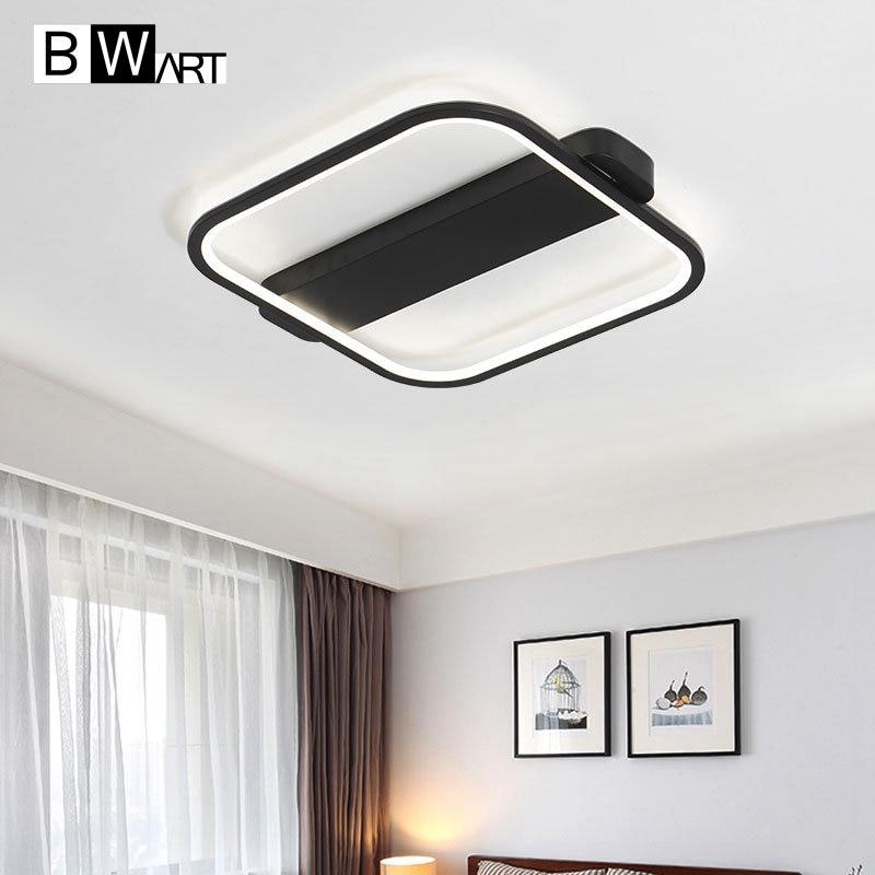 Bwart современный светодиодный Потолочные светильники для Гостиная Спальня высокая яркость Крытый потолочного светильника Luminarias Para Teto