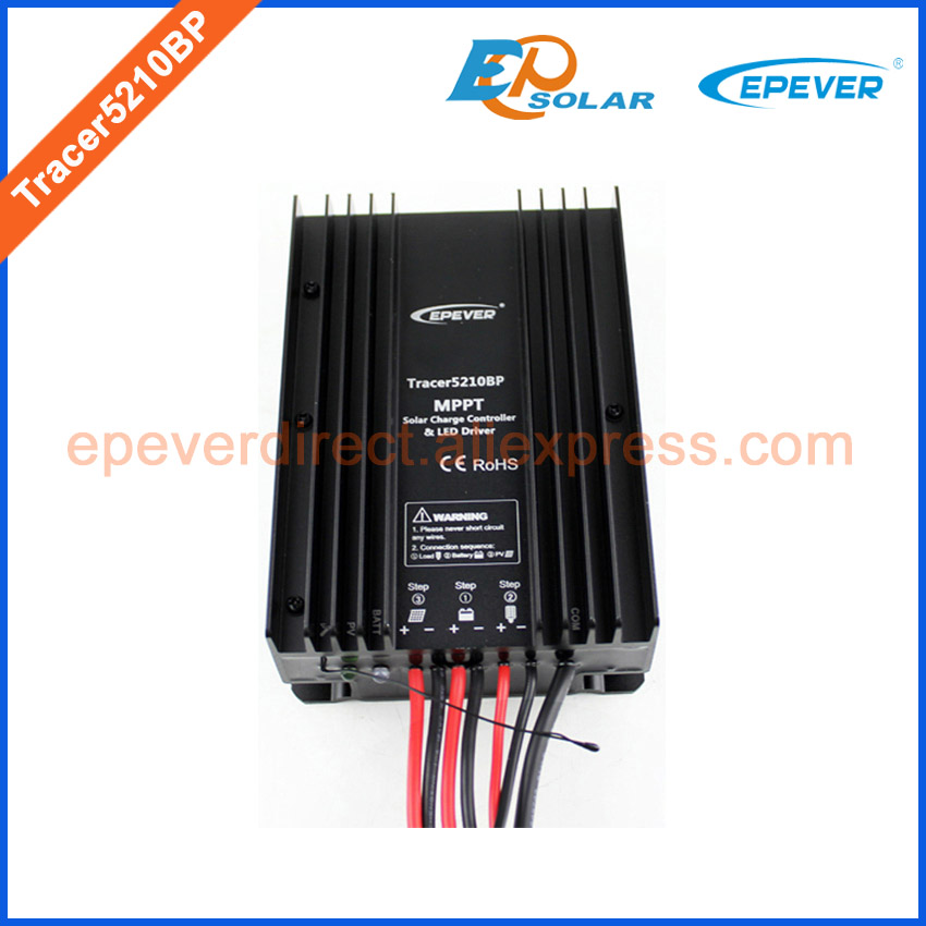 Tracer5210BP EPEVER 20A Solar portable controller 12V 24V automatic work MPPT apply for lithium Battery solar
