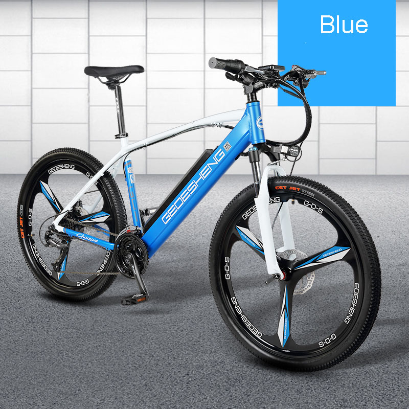 26 electric smart mountain bike MTB 48V lithium battery 27 font b speed b font variable