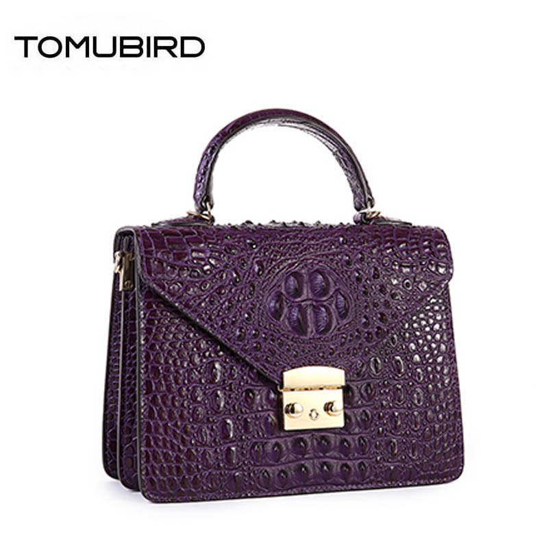 2018 New superior leather Genuine Leather women bags cowhide Crocodile pattern Tote bags handbags women famous brands цена