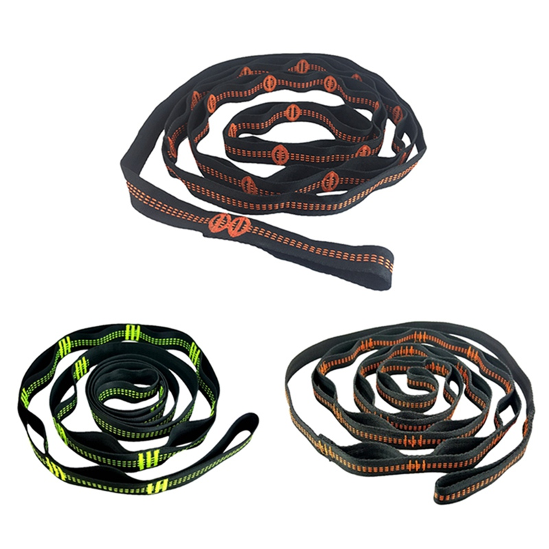 Image 4 - Nylon 1000D Tree Swing Hanging Straps Climbing Rope Durable Hanging Hammock Belt For Camping Traveling Portable Rope-in Outdoor Tools from Sports & Entertainment