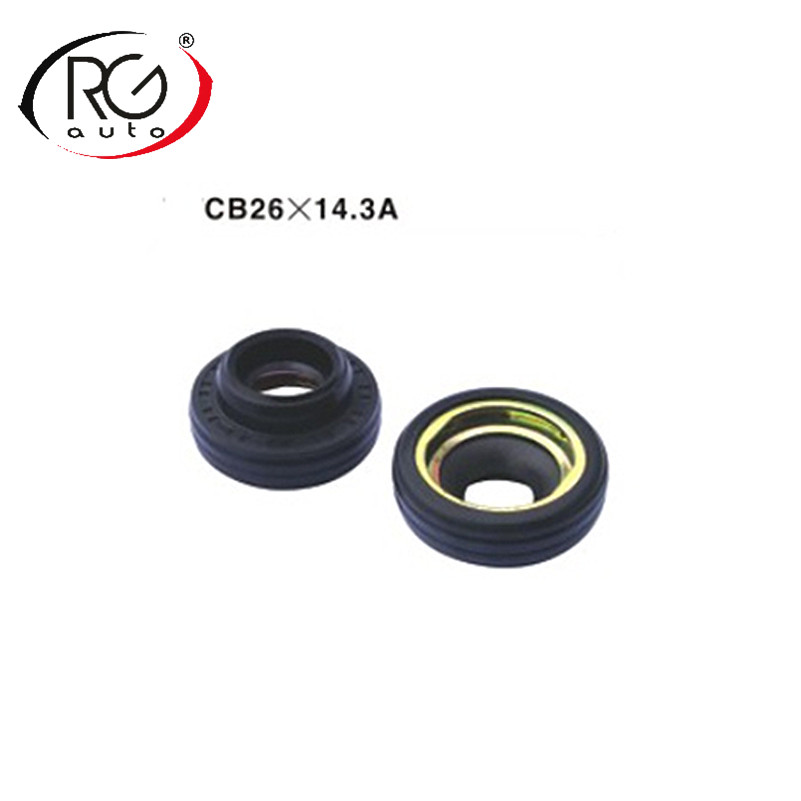 Automotive air conditioning compressor seal oil seal Auto AC compressor LIP TYPE Rubber mounted shaft seal