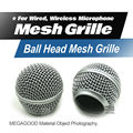Free Shipping!! High Quality Replacement Ball Head Mesh Microphone Grille Accessories for Shure BETA58 BETA58A SM58 SM58S SM58LC