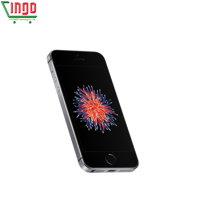 Apple iPhone SE Dual Core Cell Phones 12MP iOS Fingerprint Touch ID  2GB RAM 16/64GB ROM 4G LTE Refurbished iPhone se 6