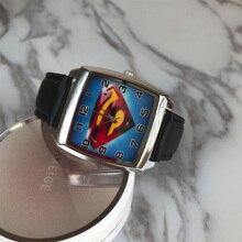 New Fashion 3D Cartoon Superman Batman Kids Watch Men s Quartz Watch Sports Girls Watch Kids