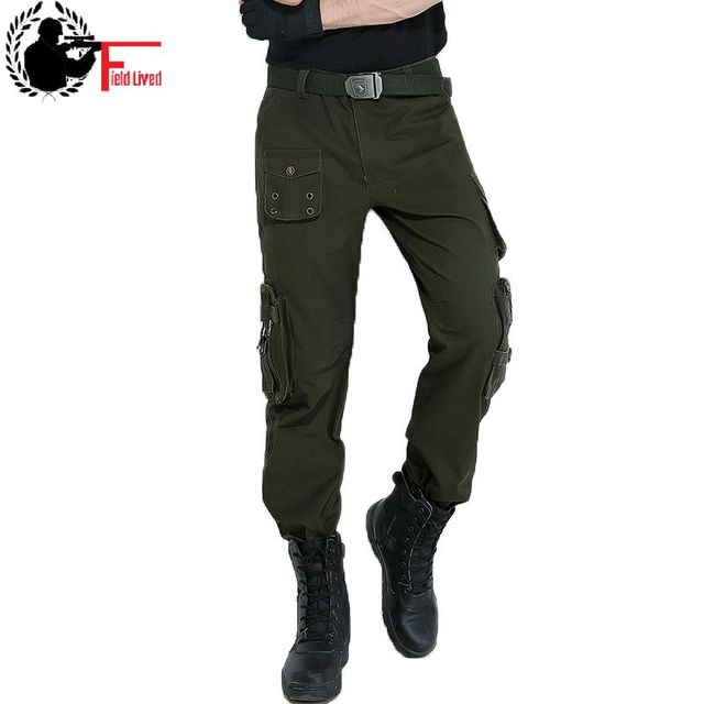 fdb91d44ea Tactical Clothing Men Pants Military Casual Multi Pockets Cargo Trousers  Male Army Green Camouflage Jogger Camo Pantalon Homme