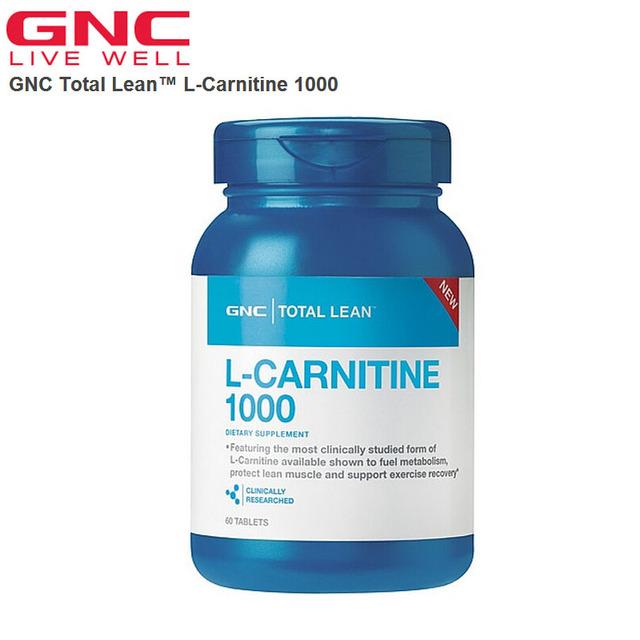 Envío gratis L-Carnitina Magra Total 1000 60 Tabletas