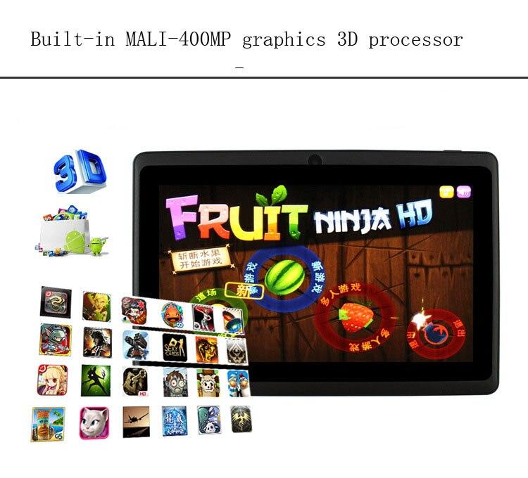 7INCH Estudiante Tablet PC 200 W Pixels HD Pantalla de visualización - Educación y entrenamiento - foto 6