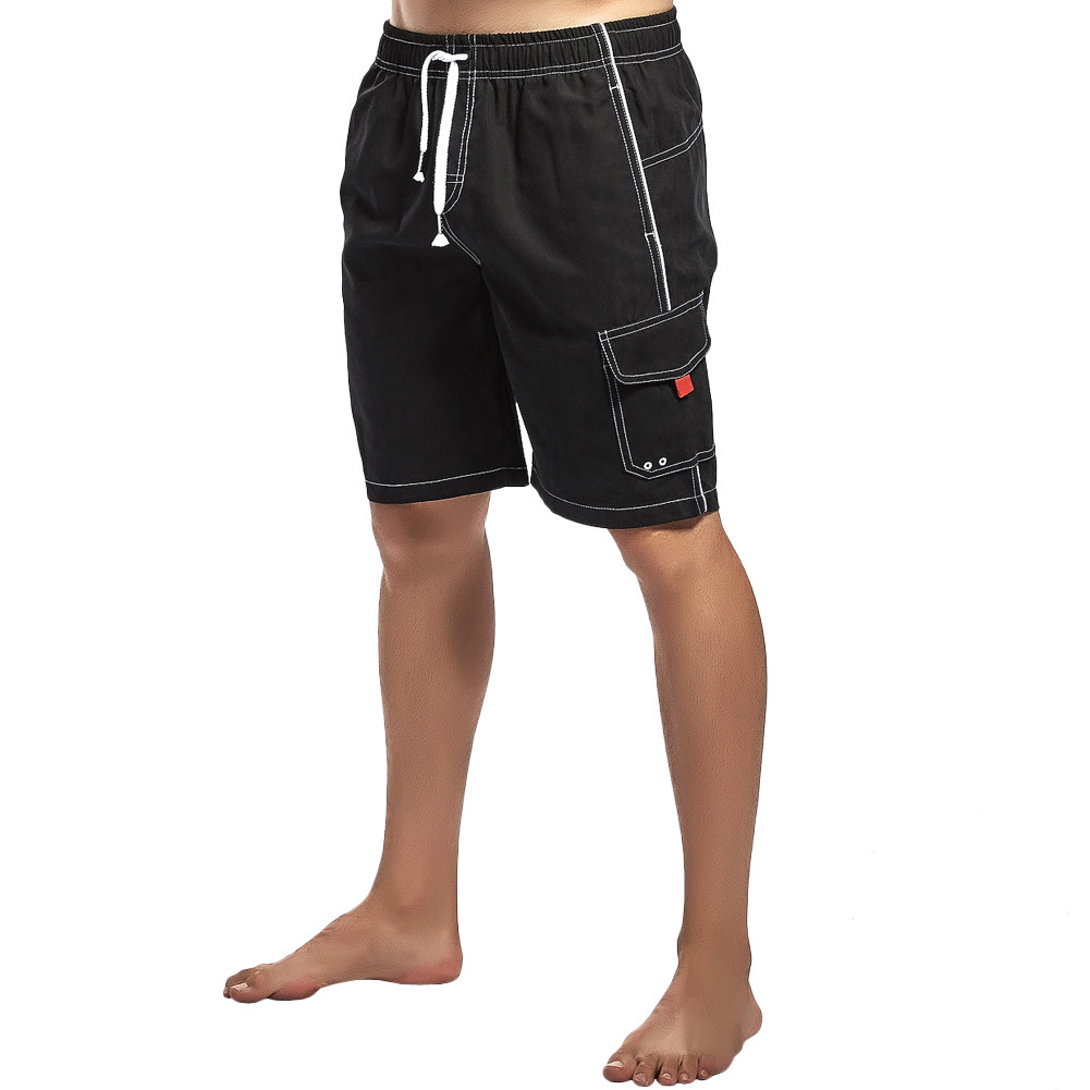 Brand   Board     Shorts   Men Beach Swimwear Swim   Short   Trunk solid Bermudas Man Boardshorts Male Sport Sweatpants Inside Mesh Liner