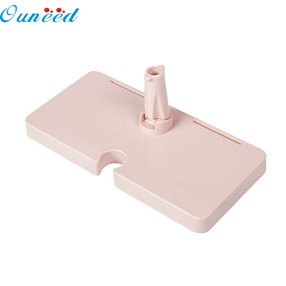 Plastic removable bath shelf wall mounted cosmetic holder storage - My House Home Bathroom Plastic Shower Storage Rack Shampoo Holder Shelf Wall New Pink 2017 New