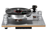 Vinyl record player LP 16s magnetic suspension PHONO Turntable with tone arm Cartridge phono record town speed Governor