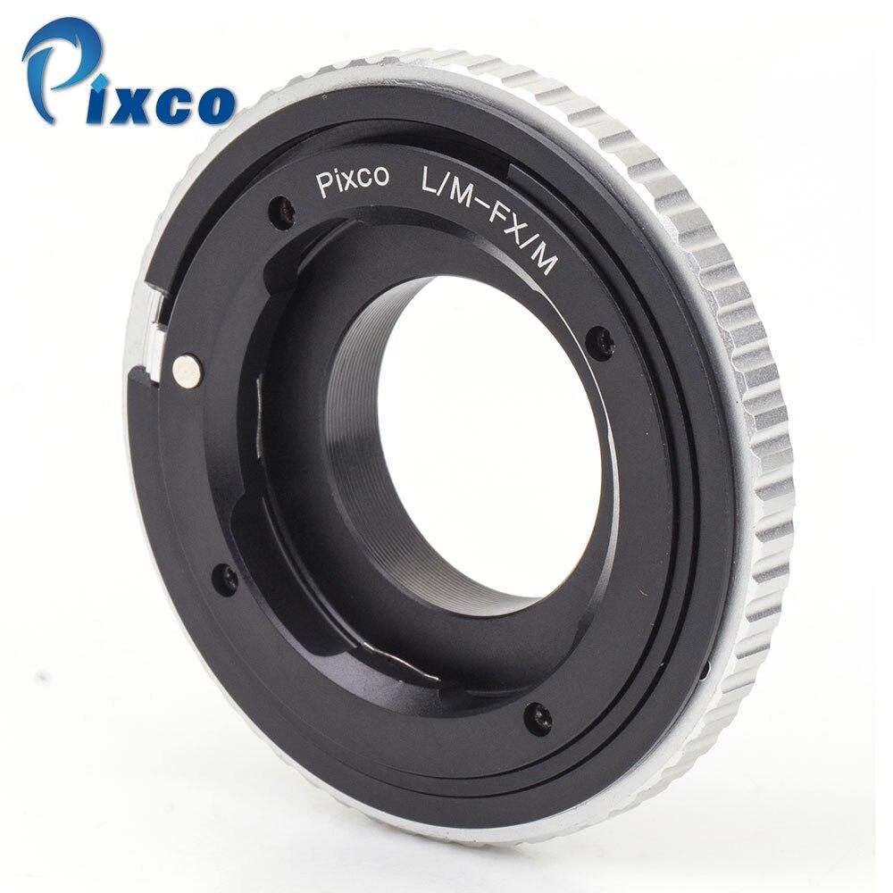 Pixco pour L/m-fx/M adaptateur objectif réglable Macro à l'infini combinaison pour Leica M pour convenir à l'appareil photo Fujifilm X