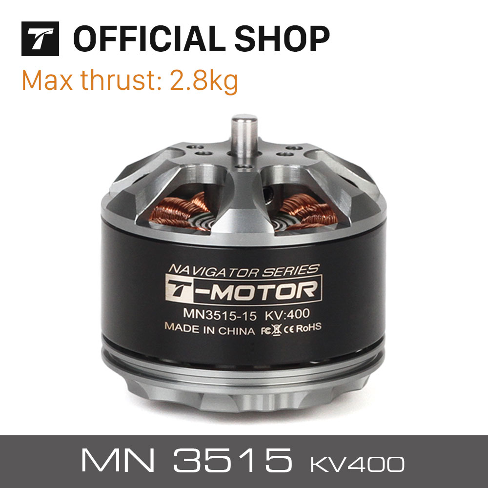T-motor professional electric outrunner brushless motor MN3515 KV400 for Multicopter aircraft boats planes helicopter rotors t motor tiger high efficiency motor u12 90kv for agriculture multicopter drone uav rotors helicopter copter aircraft
