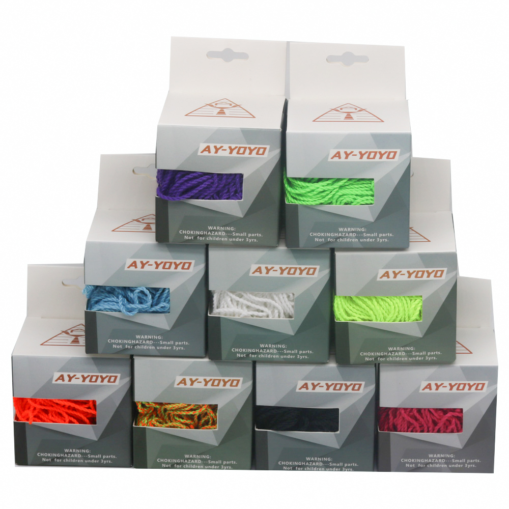 New  yoyo Strings AY-YOYO 35 Strings/Box  Technical Rope 105cm 9 colors String  practice line free shipping yoyo professional
