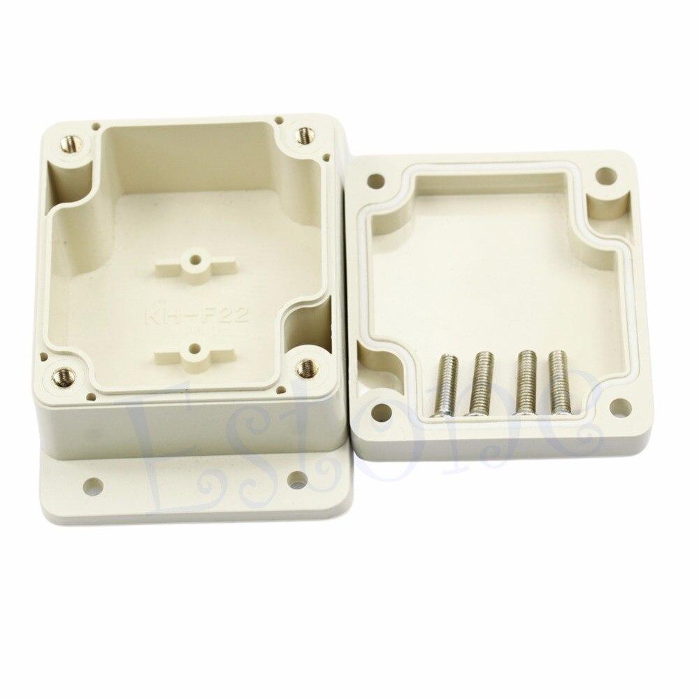 Waterproof Case Enclosure 2.56L x 2.28W x1.38H Plastic Electronic Project Box - L057 New hot 200x120x75mm waterproof clear plastic electronic project box enclosure case l057 new hot