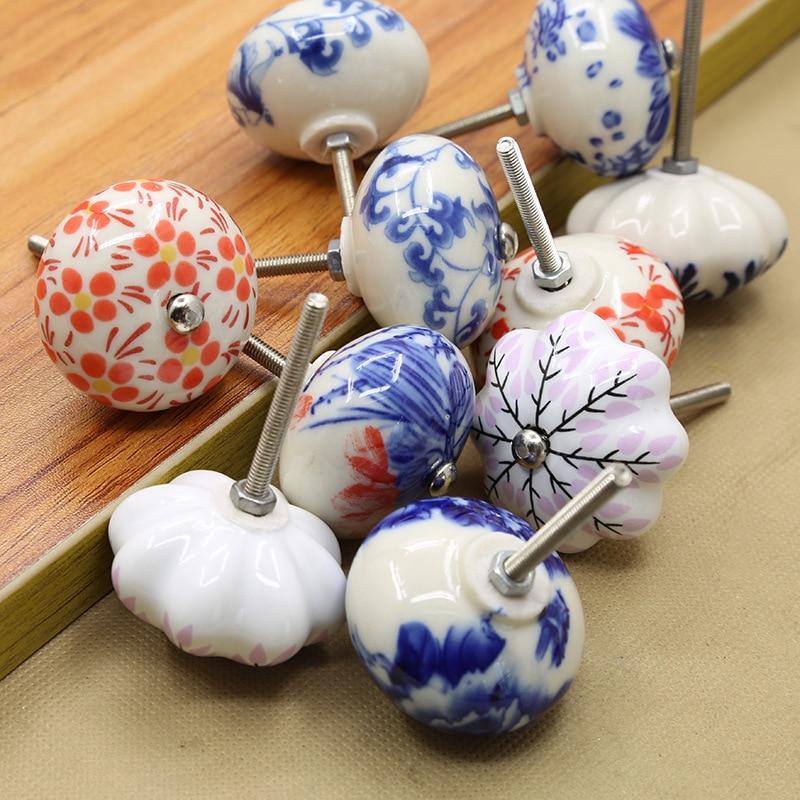 Möbel Rahmen Möbel Neue Ankunft Keramik China Blau Und Weiß Porzellan Schrank Griff Und Zieht Möbel Hardware Griff Und Knöpfe 7a2275 Eine Hohe Bewunderung Gewinnen