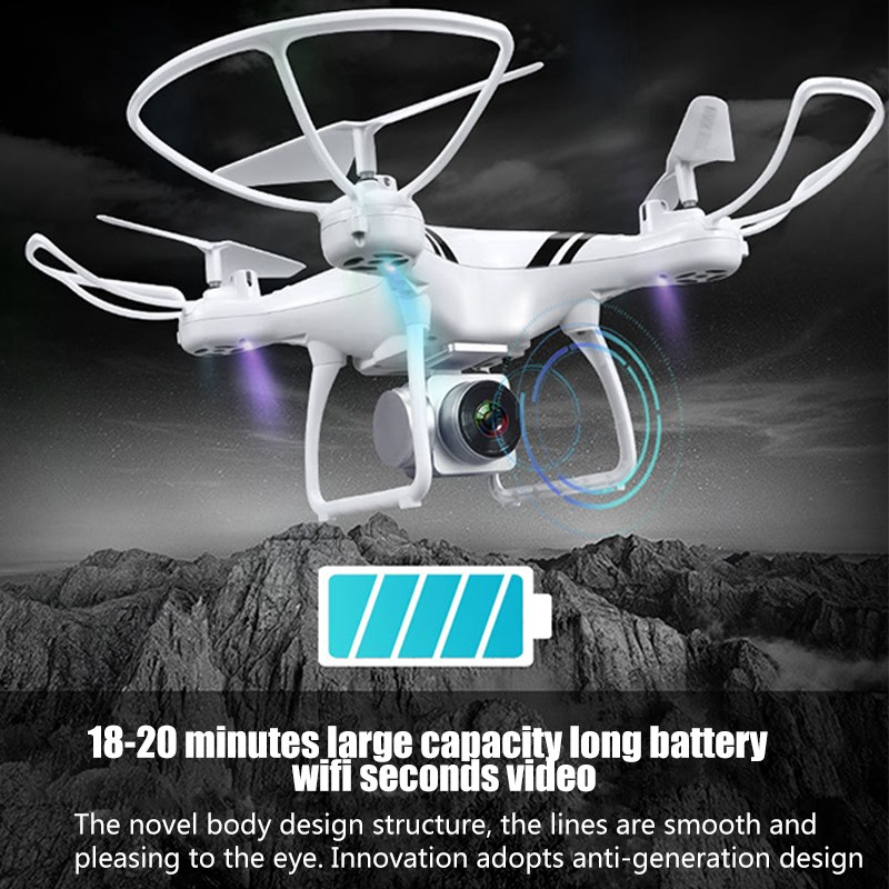 KY101S RC Drone mit Wifi FPV HD Einstellbare Kamera Höhe Halten One Key Rückkehr/Landung/Off Kopflose RC quadcopter Drone