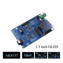 AK4137 DAC SRC аудио 384K 32Bit DSD256 DSD IIS Преобразование для Hi Fi усилителя