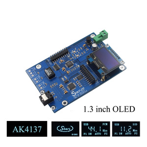 Image 1 - AK4137 DAC SRC аудио 384K 32Bit DSD256 DSD IIS Преобразование для Hi Fi усилителя