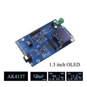 Image 1 - AK4137 DAC SRC Audio 384K 32Bit DSD256 DSD IIS conversión para amplificador hifi