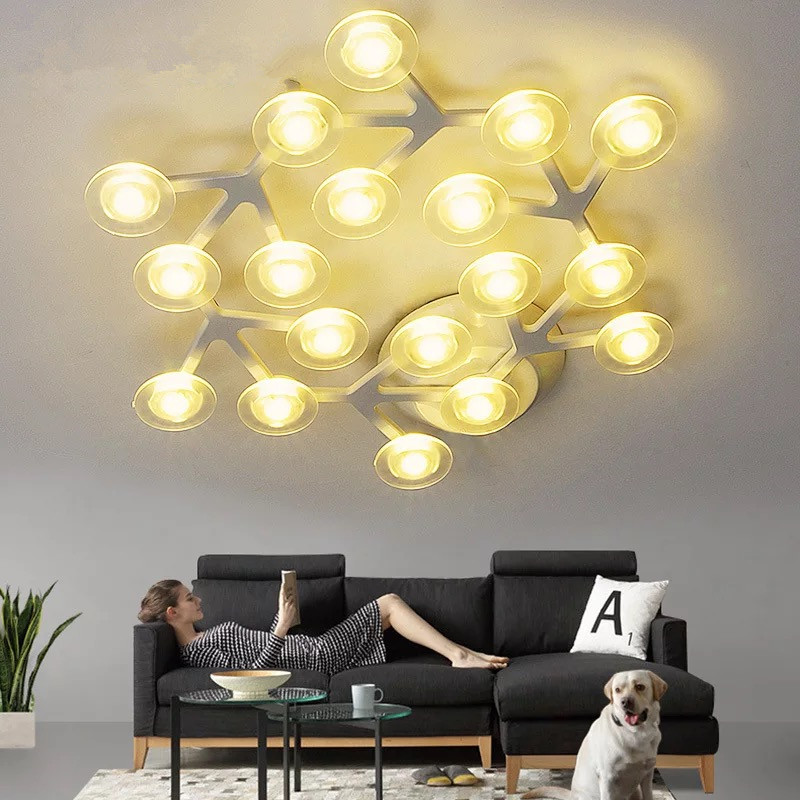 Nordic Stars Lustre Led Chandeliers 220V Ceiling For Living Room Bedroom Aisle Kitchen Hanglamp Loft Indoor Parlor Pendant LampNordic Stars Lustre Led Chandeliers 220V Ceiling For Living Room Bedroom Aisle Kitchen Hanglamp Loft Indoor Parlor Pendant Lamp