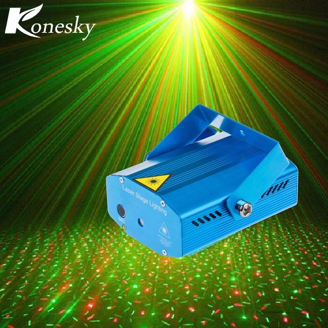 Konesky Mini Laser DJ Projector DMX LED Stage Lighting Professional ...