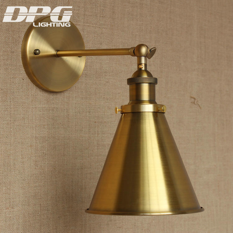 Classic wall lamp gold industrial lighting lighting for American classic lighting