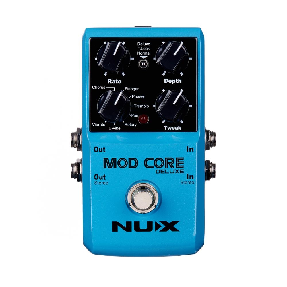 NUX Mod Core Deluxe Guitar Effect Pedal 8 Modulation Effects 1 Preset Tone Lock Electric Guitarra Pedal Guitar Parts цена 2017