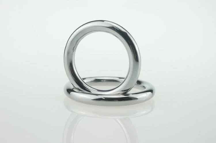 Мужская страсть Мошонка кольцо связывающее Кулон Кольцо JJ нагрузка кольцо Секс игрушки для женщин БДСМ Связывание Cockring металл