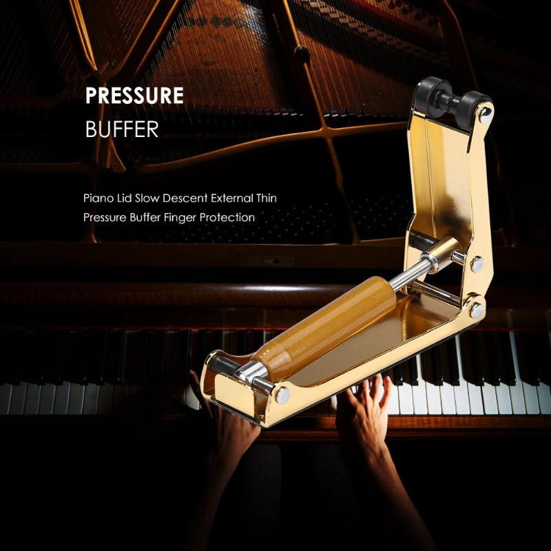 Ultra-thin Upright Piano Slow Soft Closing Fall Device Hydraulic Pressure Fallboard Decelerator Piano Descending Device