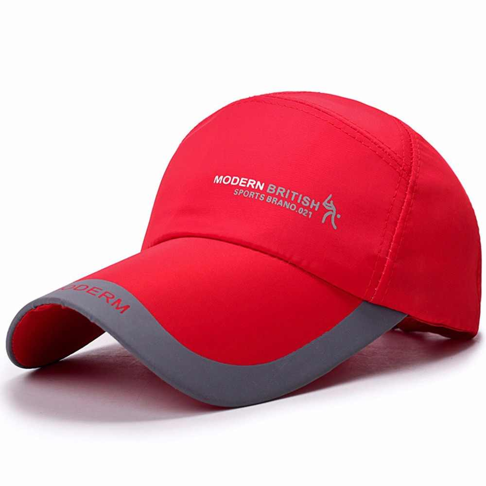 60d16e46b46 ... High quality spring men s golf caps outdoor shade cap sports baseball  hats ponchos sun protection hat ...