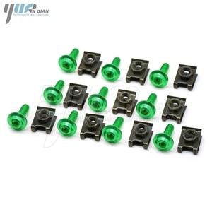 Image 2 - 10 pieces 6mm motorcycle fairing body screws for suzuki gsf 600 sv650s  bandit 400 drz 400 gsr dl 650 TL1000R  SV1000 S