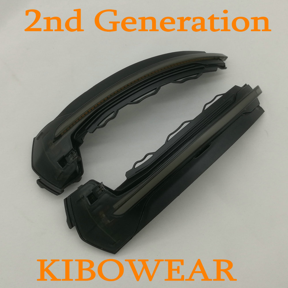 Kibowear for Audi A3 8V S3 RS3 Sequential LED Turn Signals Blinker Flowing LED Side Mirror